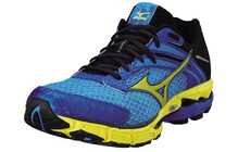 Mizuno Inspire 9 Hardloopschoenen Stabiliteit Heren Wave geel/blauw